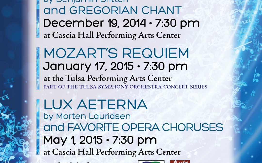 "2014-2015 Season Begins with ""Carmina Burana"" with the Tulsa Ballet | October 31, November 1, and 2nd"