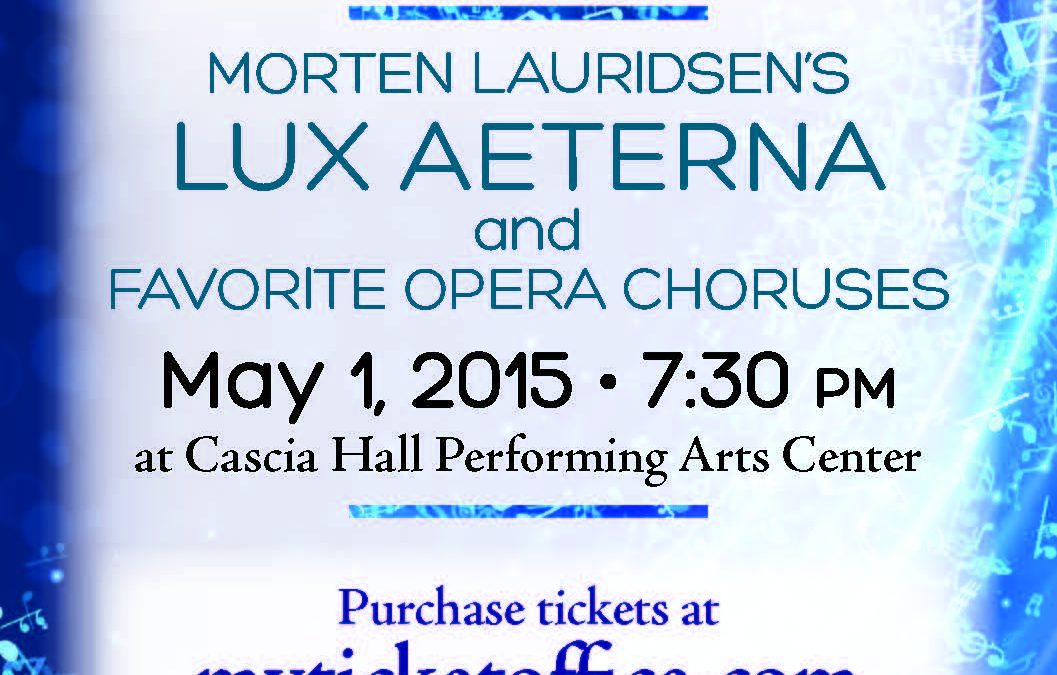 Morten Lauridsen's Lux Aeterna–notes by Tim Sharp