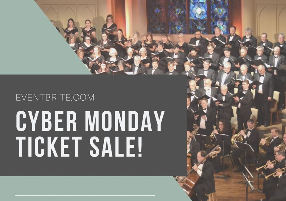 Cyber Monday ticket sale!