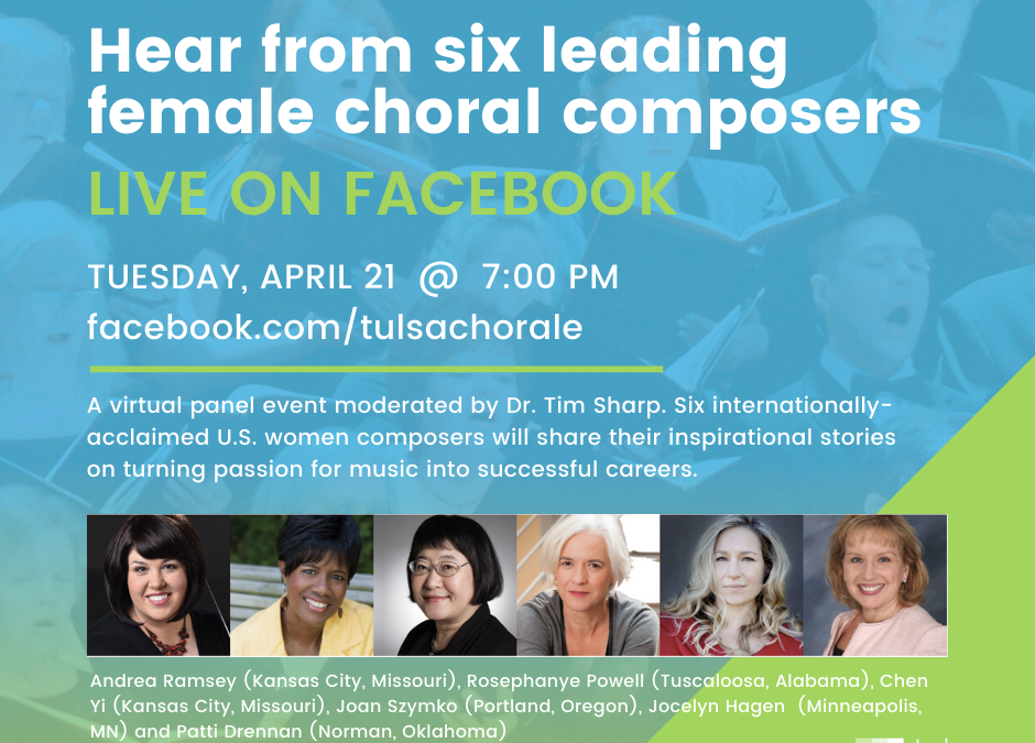 Hear from leading female composers LIVE on Facebook!